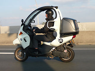 Moped Roof on The Complete With Seat Belts And A Roof Bmw C1